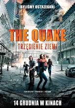 Plakat filmu The quake. Trzęsienie ziemi
