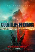 Plakat filmu Godzilla vs. Kong