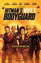 Plakat filmu Bodyguard i żona zawodowca